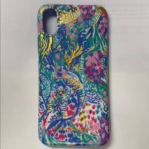 Authentic Lilly Pulitzer iPhone X phone case
